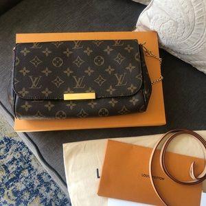 100% authentic Louis Vuitton Favorite MM monogram